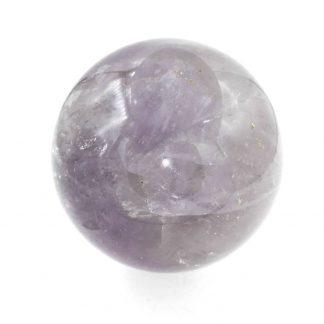 sphère en améthyste naturelle