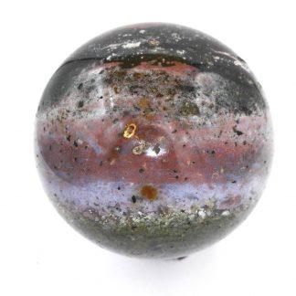 sphère en jaspe orbiculaire